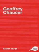 The Complete Critical Guide to Geoffrey Chaucer