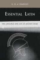 Essential Latin
