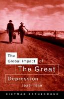 The Global Impact of the Great Depression, 1929-1939