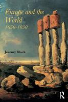 Europe and the World, 1650-1830