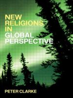 New Religions in Global Perspective: A Study of Religious Change in the Modern World