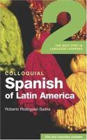 Colloquial Spanish of Latin America