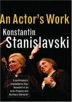 An Actor's Work