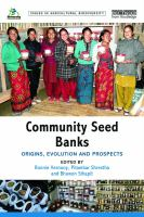 Image: Community Seed Banks : Origins, Evolution and Prospects