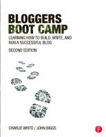 Bloggers Boot Camp