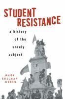 Student Resistance