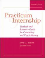 Practicum & Internship