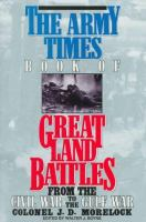 The Army Times Book of Great Land Battles