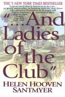 """---and Ladies of the Club"""