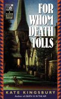 For Whom Death Tolls