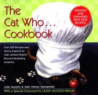 The Cat Who ... Cookbook