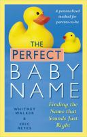 The Perfect Baby Name