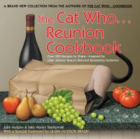 The Cat Who-- Reunion Cookbook