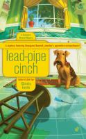 Lead Pipe Cinch : A Georgiana Neverall Mystery