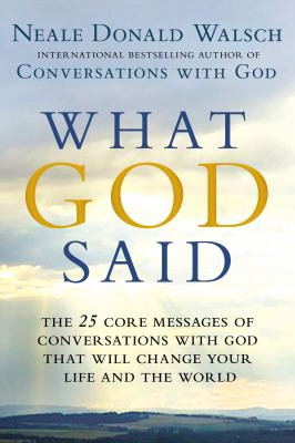 Cover image for What God Said