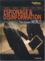 Espionage & Disinformation