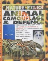 Animal Camouflage & Defence
