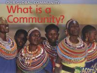 What Is A Community?