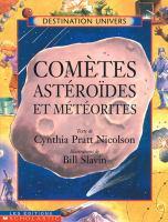 Cometes, asteroides et meteorites