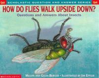 How Do Flies Walk Upside Down?