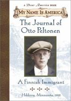 The Journal of Otto Peltonen, A Finnish Immigrant