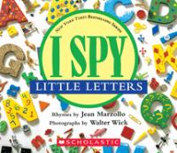 I Spy Little Letters