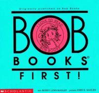 Bob Books First!|[kit]