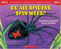 Do All Spiders Spin Webs?