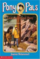 Lost and Found Pony