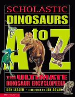 Scholastic Dinosaurs A-Z