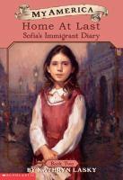 Home At Last: Sofia's Immigrant Diary (#2)