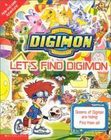 Digimon Digital Monsters. Let's Find Digimon
