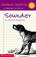 A Reading Guide to Sounder by William H. Armstrong