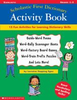 Scholastic First Dictionary