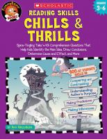 Reading Skills Chills & Thrills