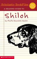 A Reading Guide to Shiloh by Phyllis Reynolds Naylor