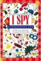 I Spy A Dinosaur's Eye