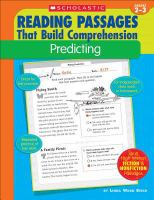 Reading Passages That Build Comprehension