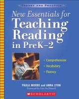 New Essentials for Teaching Reading in PreK-2
