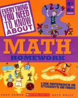 Everything You Need to Know About Math Homework
