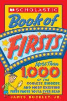 Scholastic Book of Firsts