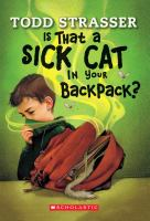 Is That A Sick Cat in your Backpack?