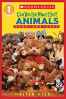 Can You See What I See? Animals Read-and-seek Level 1