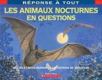 Les animaux nocturnes en questions