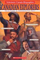 Canadian Explorers
