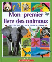 Mon premier livre des animaux