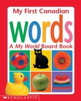 My First Canadian Words