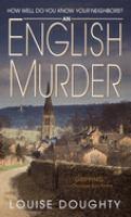 An English Murder