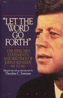 """Let the Word Go Forth"""