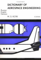 Dictionary of Aerospace Engineering in Three Languages Russian, English, German